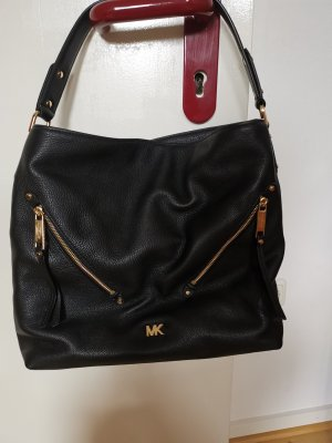 Michael Kors Handbag black-gold-colored