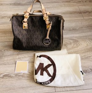 Michael Kors Bowling Bag brown-light brown