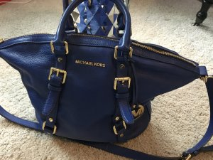 Michael Kors Carry Bag gold-colored-blue leather