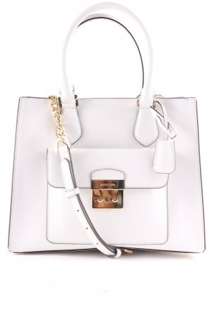 "Michael Kors Handtasche ""Bridgette MD EW Saffiano Leather Tote Optic White"""