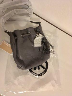 Michael kors Handtasche clutch neu Tasche grau Silber Designer Leder Ring tote