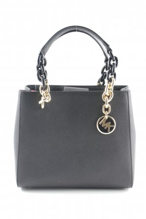 "Michael Kors Sac à main ""Cynthia SM NS Convertible Satchel Bag Black"" noir"