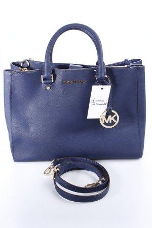 Michael Kors Handtasche dunkelblau Business-Look