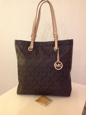 Michael Kors Carry Bag brown red-beige leather