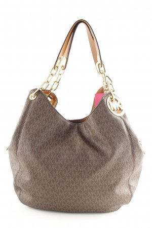 "Michael Kors Handtasche ""Fulton LG Shoulder Tote Brown"""