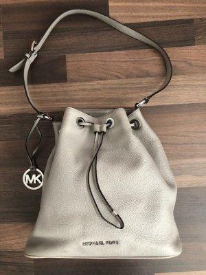 Michael-Kors-Handtasche-Grau-Silber