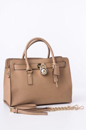 MICHAEL KORS - Handtasche Hamilton LG E/W Beige