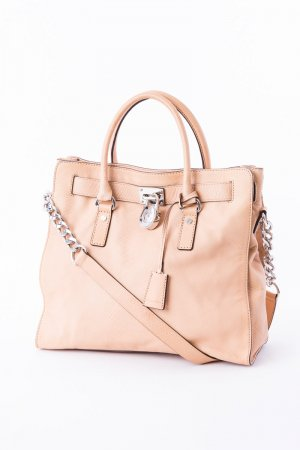 Michael Kors Handbag nude-silver-colored leather