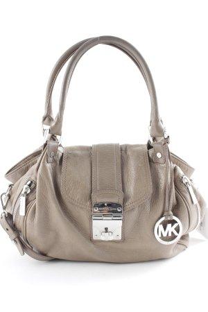Michael Kors Handbag light brown-silver-colored casual look