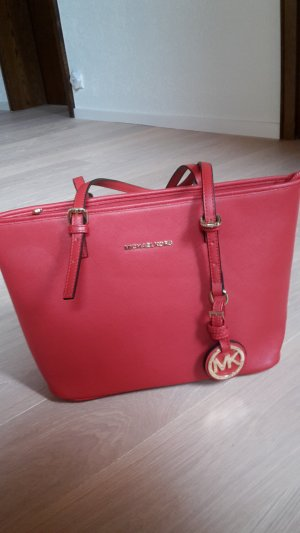 Michael Kors Bolso business rojo oscuro