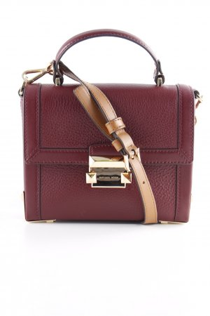"Michael Kors Handtasche ""Jayne SM Trunk Bag Oxblood"" bordeauxrot"
