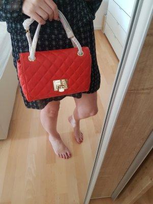 Michael Kors Handtasche NEU Vivianne MD Shoulder Flap sienna orange rot gold