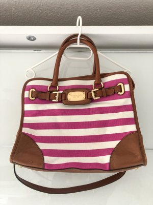 Michael Kors Handtasche pink/weiß