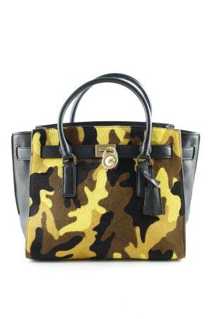 Michael Kors Handtasche schwarz Camouflagemuster Elegant