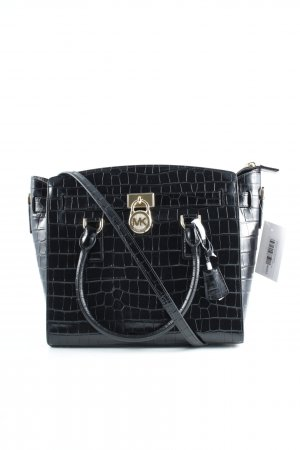 Michael Kors Bolso negro-color oro look casual