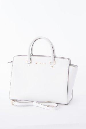 MICHAEL KORS - Handtasche Selma LG Weiß NEU