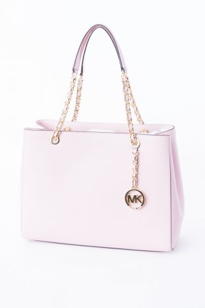 Michael Kors Carry Bag light pink-gold-colored leather