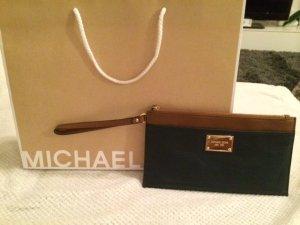 Michael Kors Handtasche Tasche Clutch blau navy braun NEU