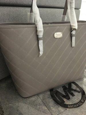 Michael kors Handtasche Tasche neu Blogger Frau braun Silber jet set travel