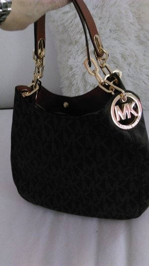 Michael Kors Handbag black brown-brown