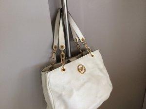 Michael Kors Handbag white-gold-colored imitation leather