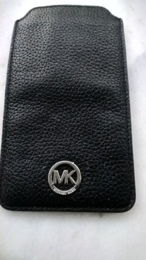 Michael Kors Mobile Phone Case black leather