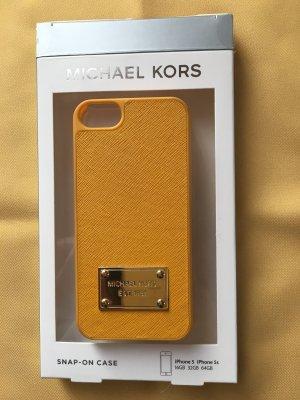 Michael Kors Carcasa para teléfono móvil naranja dorado