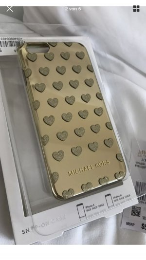 Michael kors Handyhülle in Gold mit Herzen neu