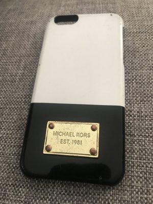 Michael Kors Handyhülle IPhone 6 weiß Gold schwarz