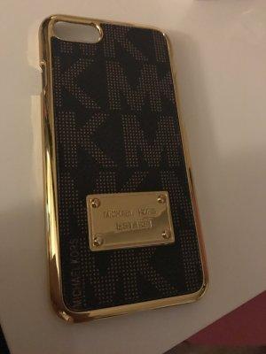 Michael Kors Handyhülle IPhone 7 Braun Gold
