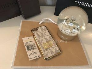 Michael Kors Handyhülle IPhone 7 Gold Beige Braun