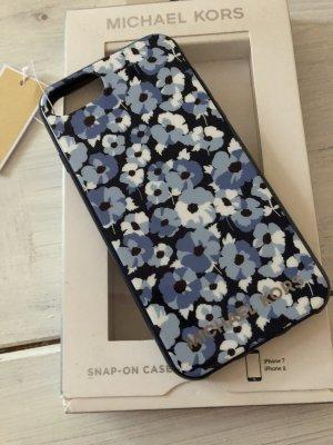 Michael Kors Carcasa para teléfono móvil blanco-azul