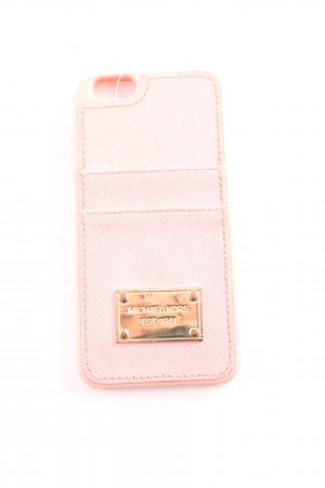 Michael Kors Mobile Phone Case dusky pink-gold-colored casual look