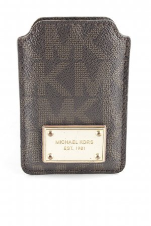 Michael Kors Hoesje voor mobiele telefoons lichtbruin-bruin elegant