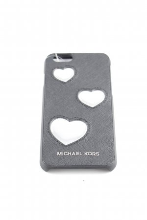 Michael Kors Mobile Phone Case black-silver-colored Herzmuster casual look