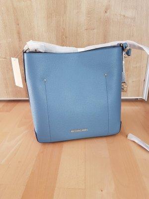 Michael Kors Hayes Denim Blau Beuteltasche Crossbody Tasche Handtasche neu original