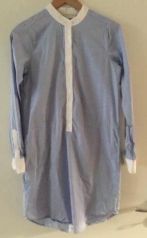 Michael Kors Robe chemise blanc-bleu azur
