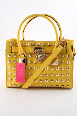 Michael Kors Henkeltasche blassgelb Business-Look