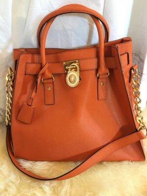 Michael Kors Carry Bag orange leather