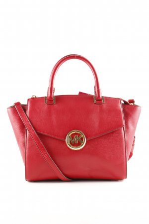 Michael Kors Henkeltasche rot Business-Look