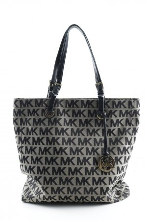 Michael Kors Carry Bag beige-black monogram pattern elegant