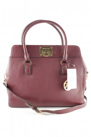 Michael Kors Henkeltasche bordeauxrot Casual-Look
