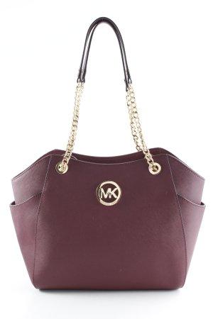 Michael Kors Carry Bag bordeaux-gold-colored business style