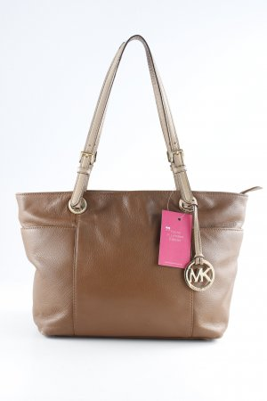 Michael Kors Carry Bag brown-cream business style