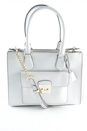 "Michael Kors Henkeltasche ""Bridgette MD EW Saffiano Leather Tote Optic White"""