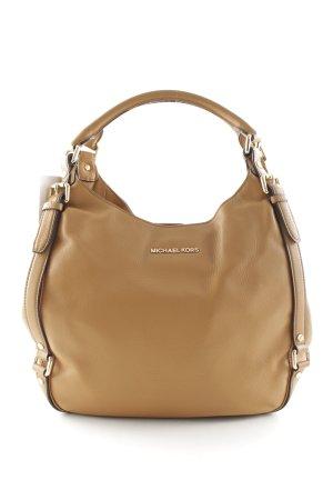 Michael Kors Carry Bag camel street-fashion look