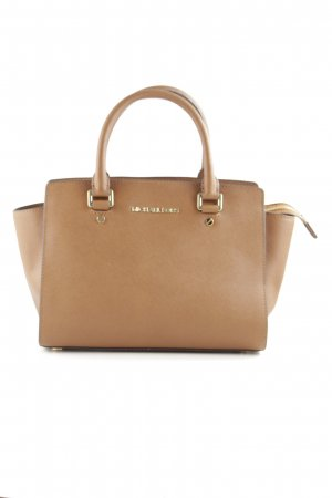 Michael Kors Henkeltasche cognac Business-Look