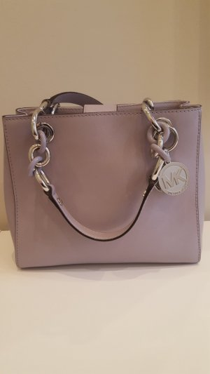 Michael Kors Carry Bag mauve-silver-colored leather