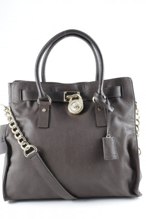 Michael Kors Carry Bag dark brown casual look