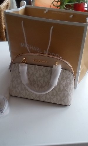 Michael Kors Carry Bag gold-colored-oatmeal leather